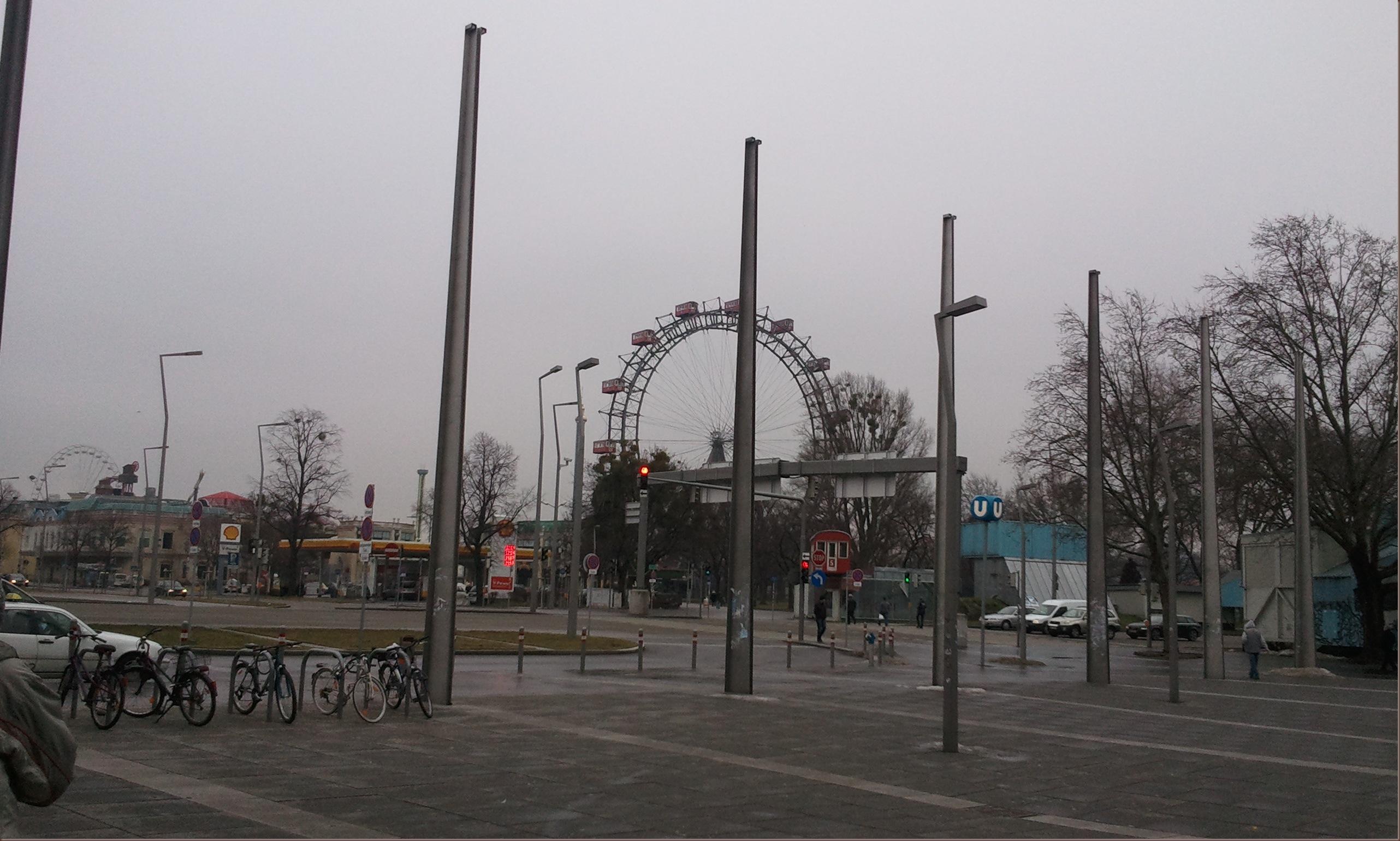 Wien Pratersicht
