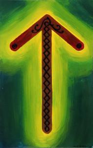 Tiwaz Rune by fenix42 on DeviantArt