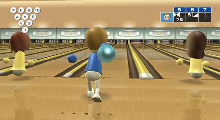 Screenshot Wii Sports Bowling 01